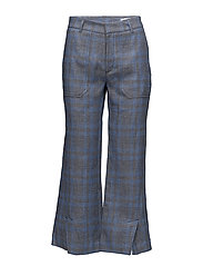 High Work Trouser - BLUE CHECK