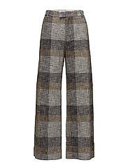Forty Trouser - BEIGE CHECK