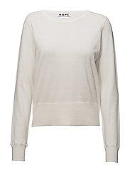 Usual Sweater - BONE WHITE