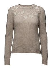 KNIT SWEATER - STONE