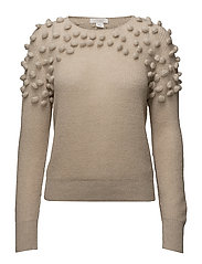 KNITTED SWEATER - LINEN