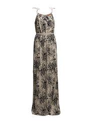 Maxi dress - Beige print