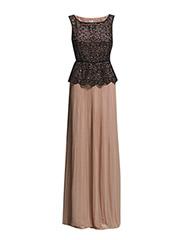 Maxi dress - Nude