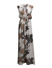 Maxi dress - Ivory print