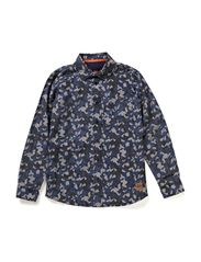 Shirt - all over print navy