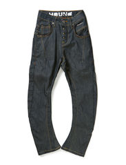 Jeans BIG TWISTER - coated denim
