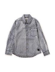 Shirt l/s - granit