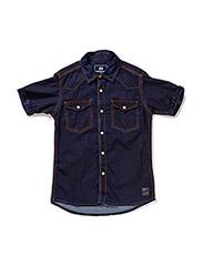 Shirt s/s - denim