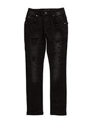 XTRA SLIM jeans - USED BLACK