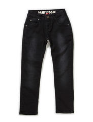 STRAIGHT - BLACK DENIM