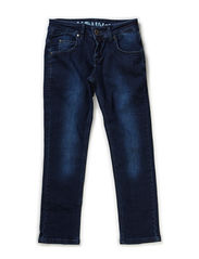 Jeans STRAIGHT - dark denim