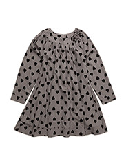 LANA dress - DK GREY HEART