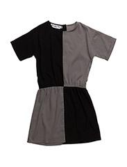 MOA dress - BLACK /DK GREY
