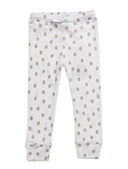 Baby legging - WHITE DOTS