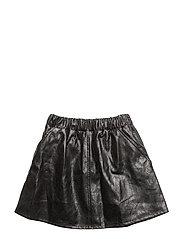 PEACH skirt - BLACK