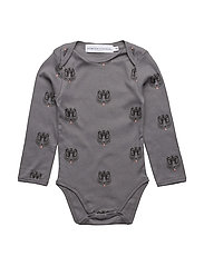 Body print TIGER - DARK GREY