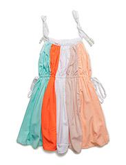 Coki dress - MULTICOLOR/PEARLS