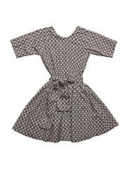 Siona dress - GREY WHEEL