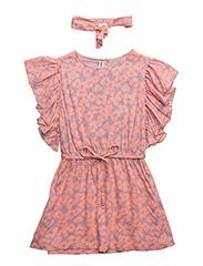 Cilla dress - ORANGE BLOOM