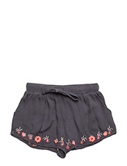 Dee shorts - GREY EMBROIDERY