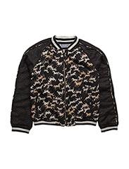 Taylor jacket - BLACK/BLK HORSE