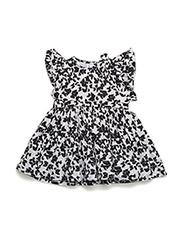 Fifi dress - BUTTERFLY BLACK