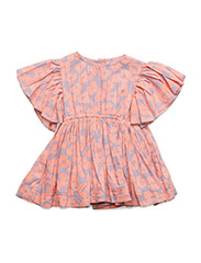 Tanya dress - ORANGE BLOOM