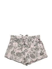 Dee shorts jersey - POWDER PALMTREE
