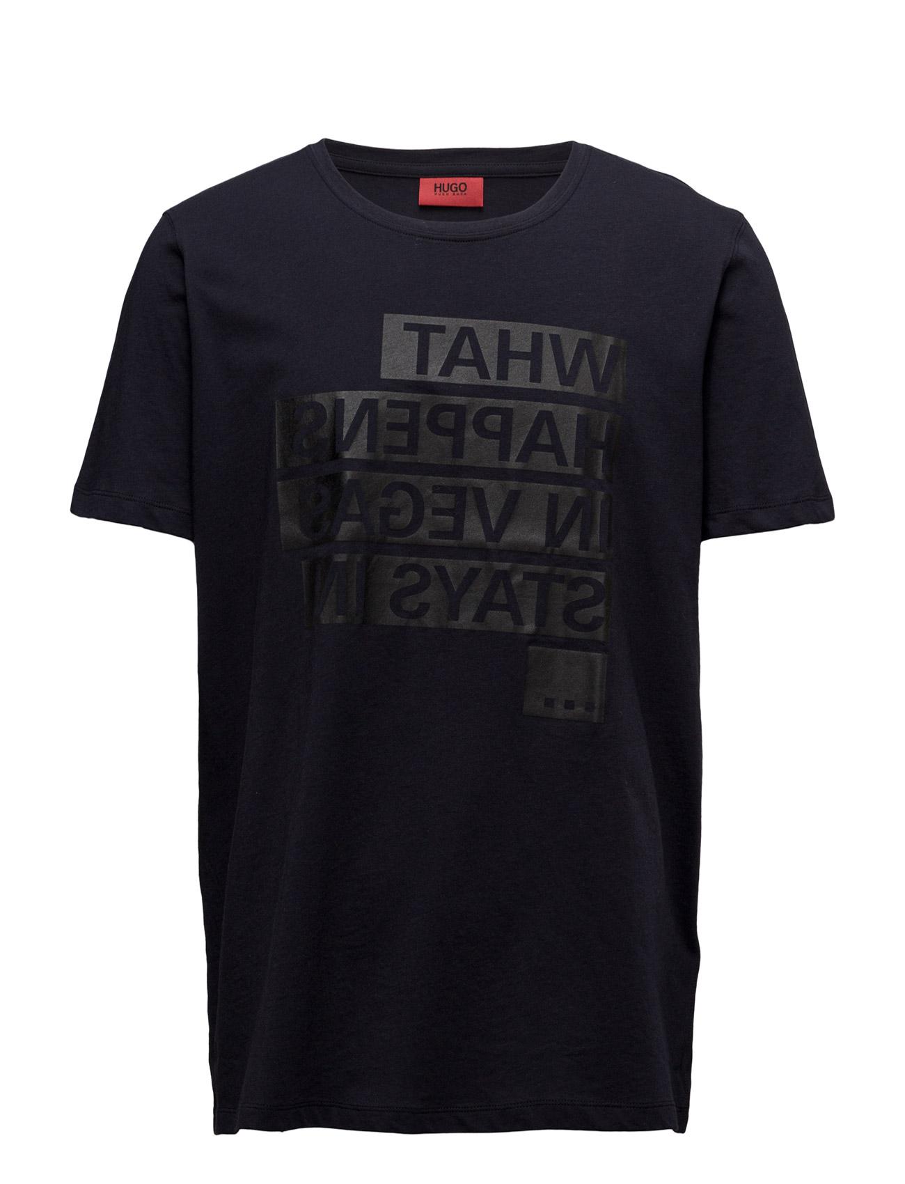 Devent HUGO T-shirts til Mænd i Navy blå