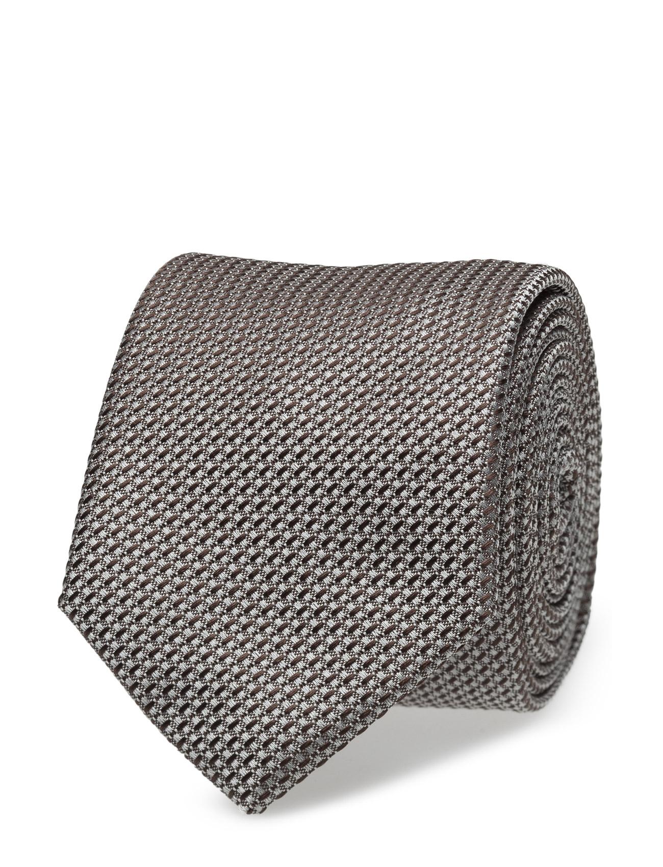 Tie Cm 6 HUGO Accessories til Mænd i Mørkebrun