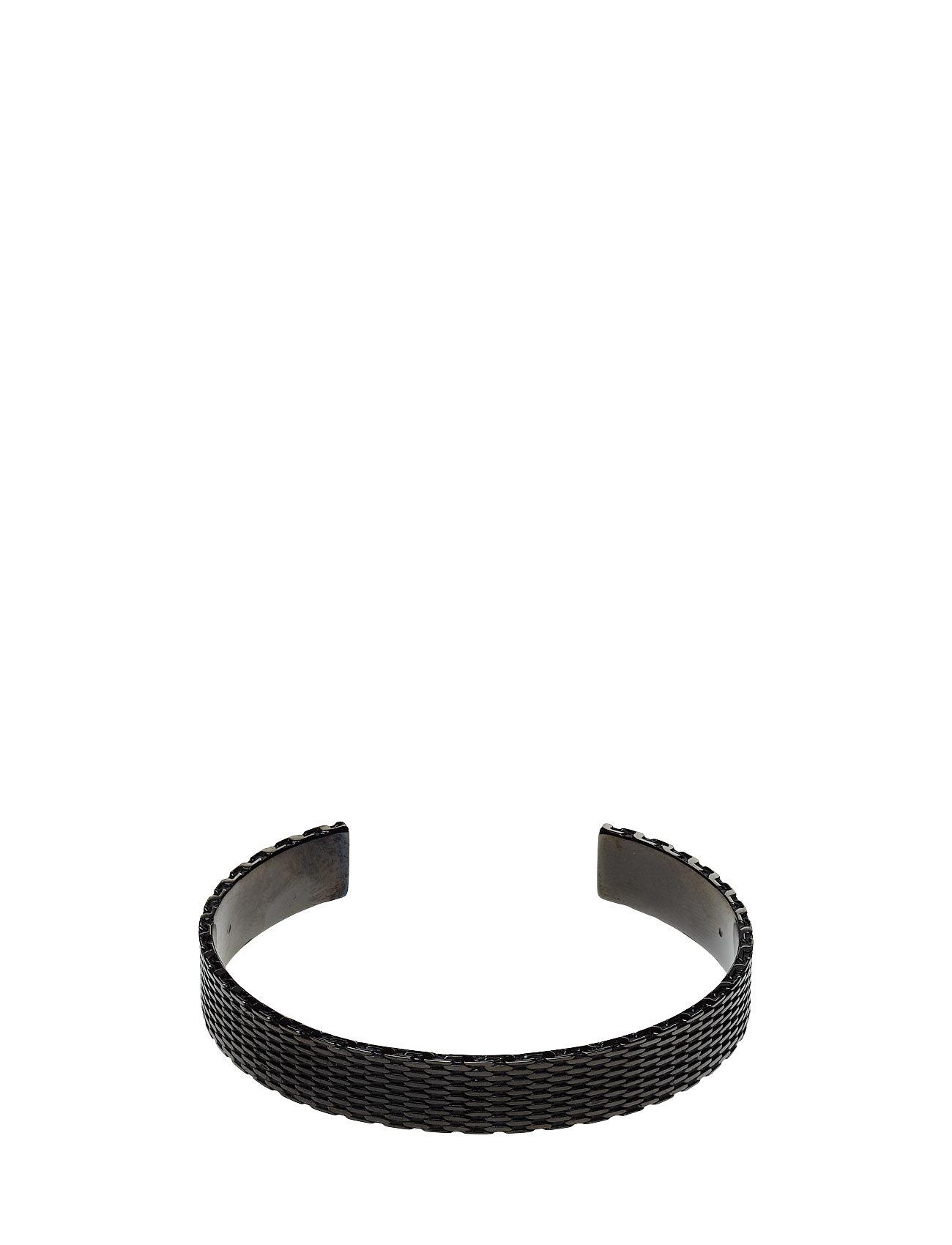 E-Milanese-Bangle HUGO Smykker til Herrer i Mørkegrå