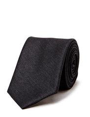 Tie 6 cm self-tipped - Grey