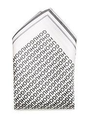 Pocketsquare 33x33cm - OPEN WHITE