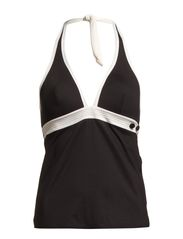 V FOAM TANKINI - BLACK