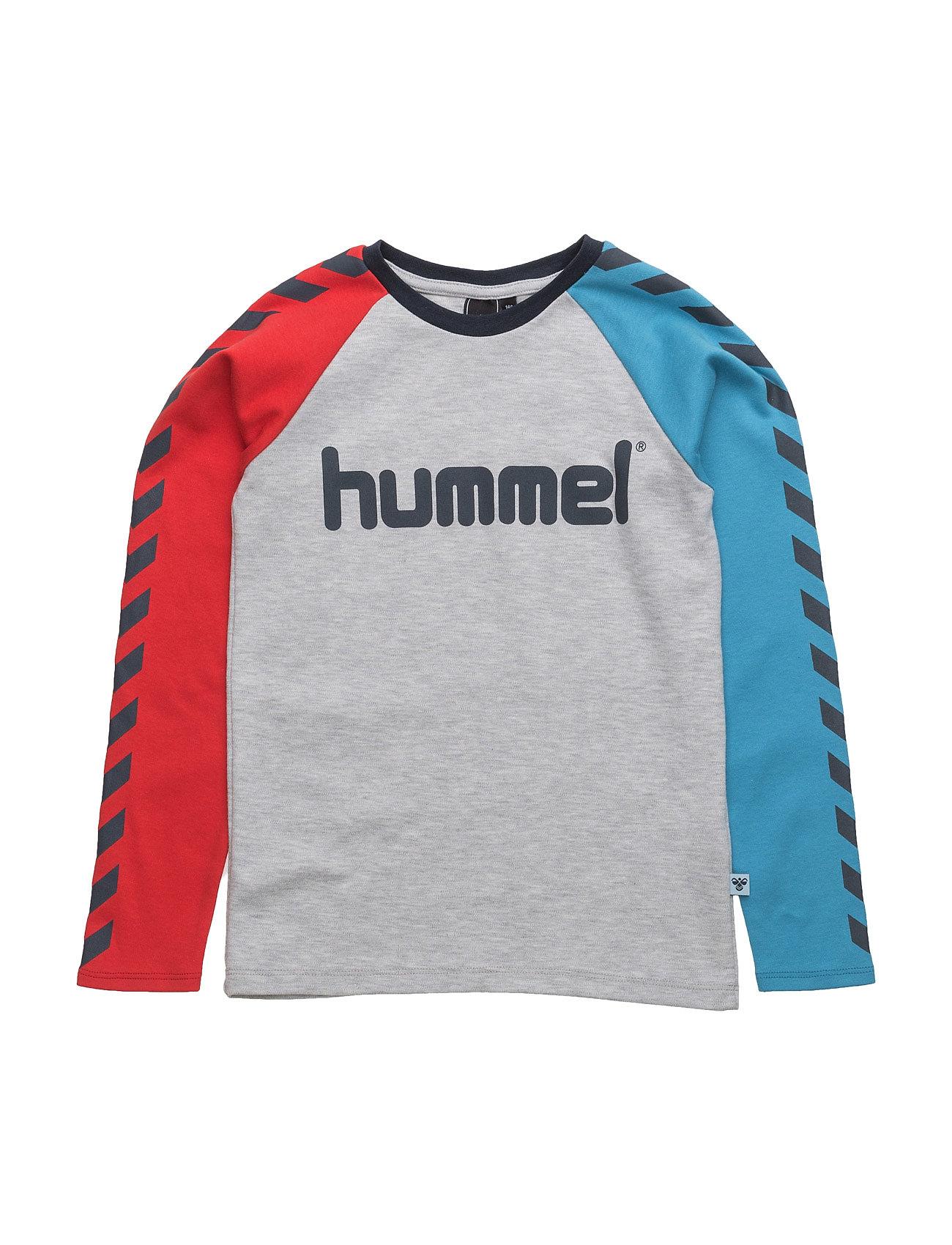 Lukas Ls Tee Ss17 Hummel Langærmede t-shirts til Børn i