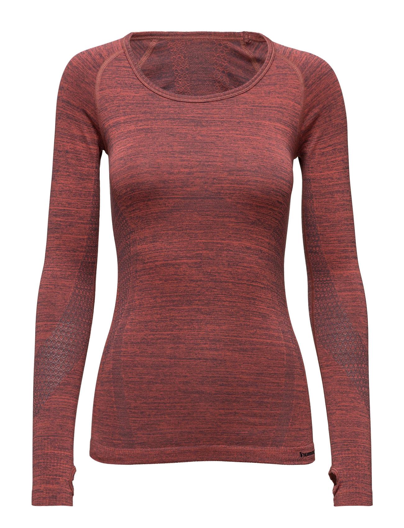 Noa Seamless Ls Tee Hummel Løbe t-shirts til Damer i