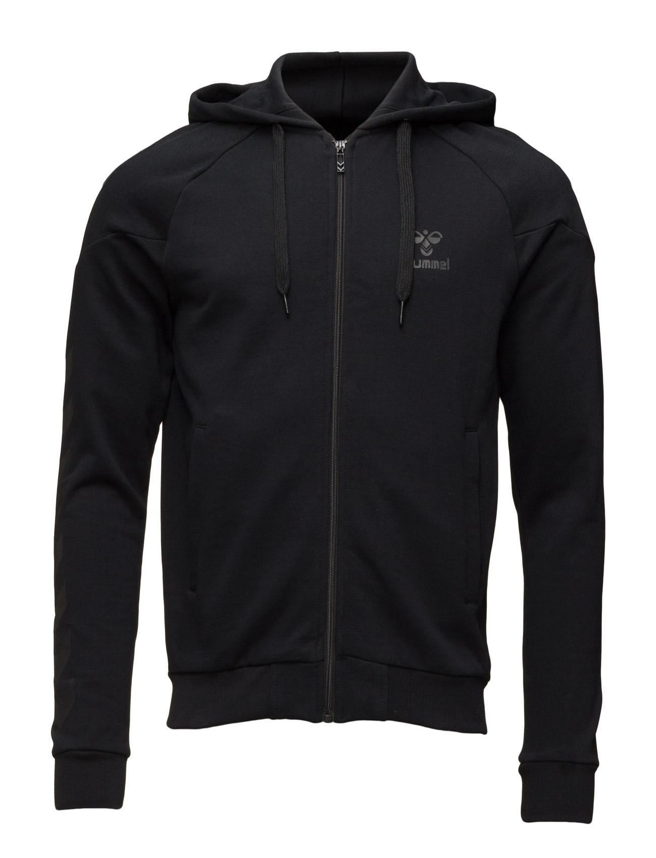 Classic Bee Zen Zip Jacket Hummel Sports sweatshirts til Herrer i Sort