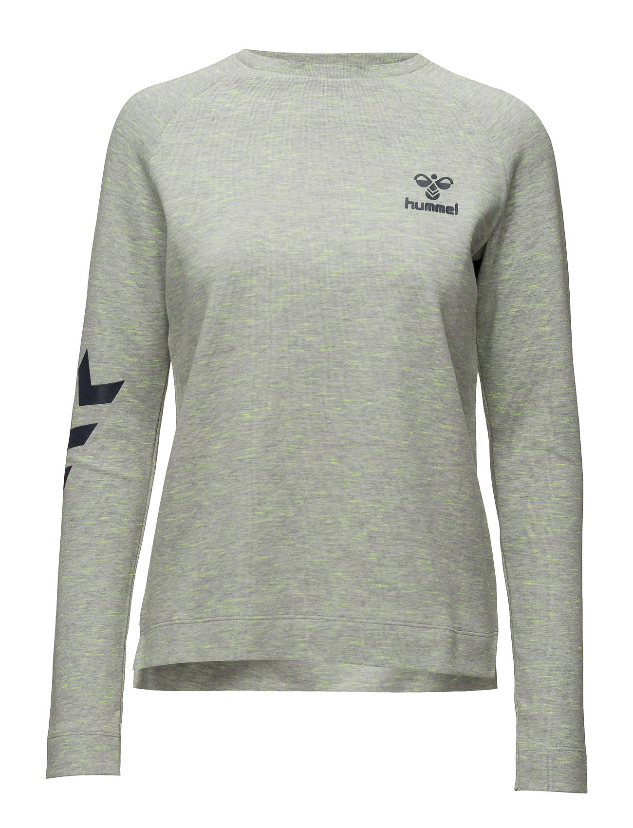 Classic Bee Wo Loki Sweatshirt Hummel Sweatshirts til Damer i Grey Melange