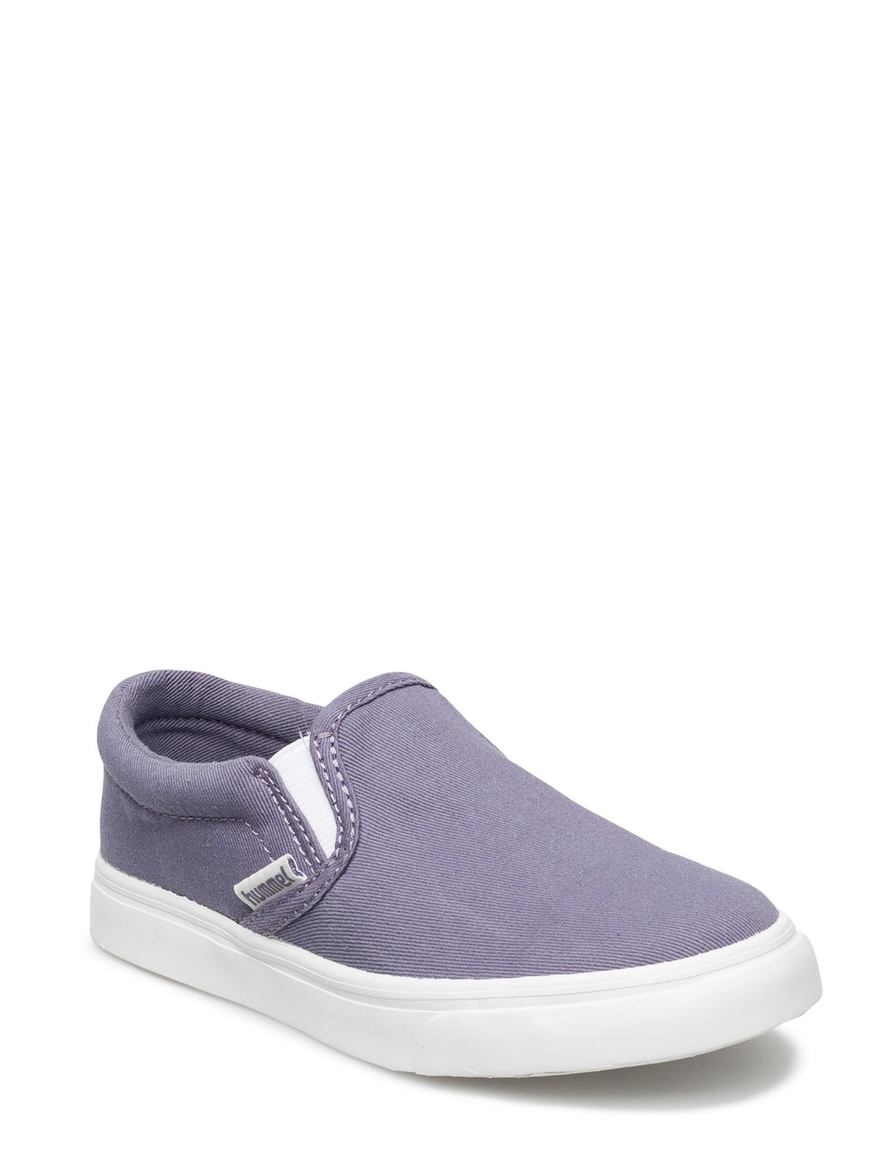 Slip-On Canvas Jr Hummel Sko & Sneakers til Børn i Kadet