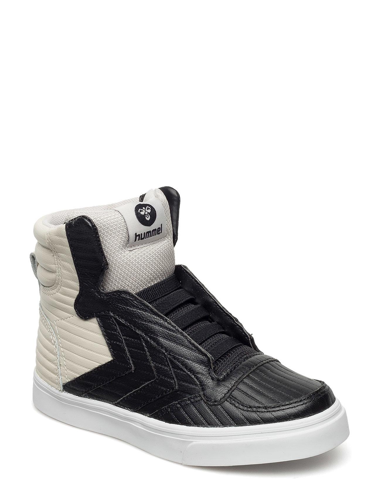 9561b0c1dd1 Stadil 50fifty Leather Jr Hummel Sko & Sneakers til Børn i Sort ...