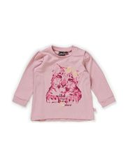 CAT LS TEE - LILAS