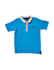 JANNIK SS POLO - BRILLIANT BLUE