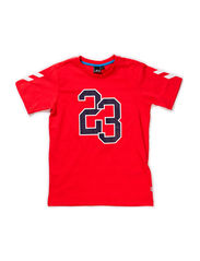 FREDY SS TEE - ROCOCCO RED