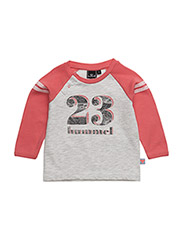 GAME LS TEE - CALYPSO CORAL