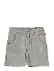 LISA SHORTS - GREY MELANGE