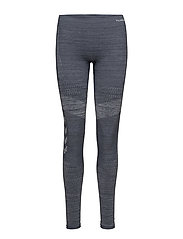ELLY SEAMLESS TIGHTS - BLUE NIGHTS MELANGE