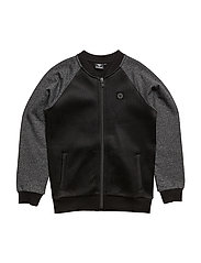 NOA ZIP JACKET - BLACK