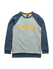 HILL CREWNECK - BLUE WING TEAL