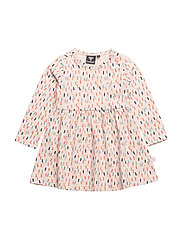 DAISY LS DRESS - MULTI COLOUR GIRLS
