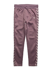 ADEL PANTS - BLACK PLUM